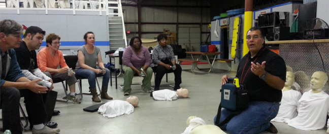 Cpr Training 2014